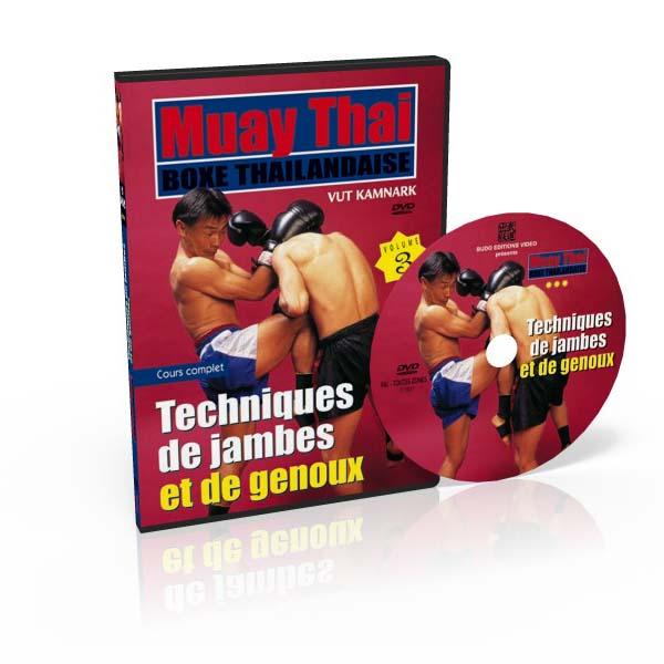 MUAY THAI (3) Techniques de jambes et de genoux