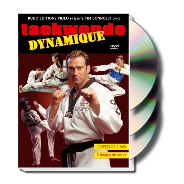 TAEKWONDO DYNAMIQUE Coffret 3 DVD