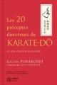 LES 20 PRÉCEPTES DIRECTEURS DU KARATE-DÔ